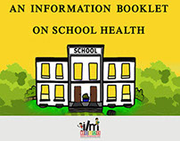 Illustrated health Booklet for School Children.