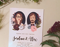 Martinak Custom Wedding Invites