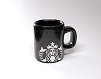 Caneca Starbucks - CGI