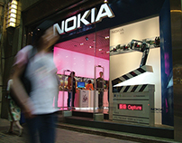 Nokia flagship store retail campaigns
