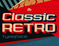 Classic Retro Typeface