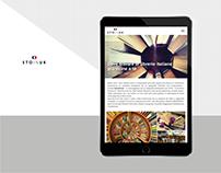 Branding / Digital Design - Sto in UK