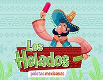 Identidade Visual e Criação de personagem: Los Helados