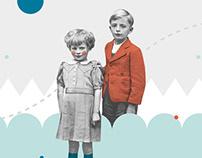 Białe Kruki − book & collages