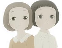 Girls of the bobbed hair