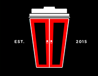 The Coffee Corner logo & branding