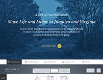 Harvard University: Two Plantations Website
