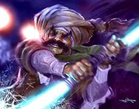 the Egyptian Jedi
