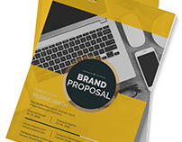 Clean Proposal InDesign Template