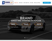 Car Dealer Website Landing Page Design Mockup 1