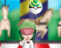 Ralts Gijnika Pokemon