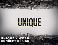 UNIQUE - Wear Concept Design