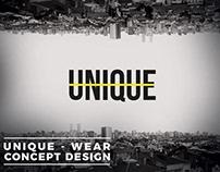 UNIQUE - Wear Concept Design