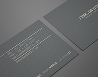 Minimal Business Card (freebie)