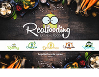 REALFOODING | Nutritionist Brand Architecture