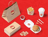 Hunger Bunker Logo Design | Branding