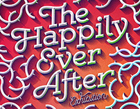 The Happily Ever After – Typographic Illustration