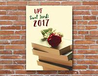 Cartell UPF Sant Jordi 2017 (concurs)