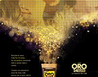 Café Oro 24 Kilates Campaign