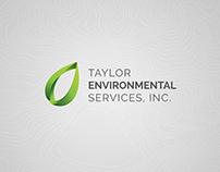 Taylor Environmental Services Identity Design