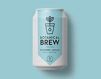 Botanical Brew Branding & Packaging