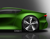 Luxury Sports Coupe Concept