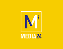 Media 24 Logo Design Proposals