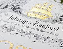 Johanna Basford Logo Design, Branding, & Collateral