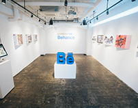 """Inspiration on Behance"" 日本のクリエイター名鑑 Gallery Exhibition"