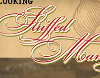 Stuffed Manicotti Recipe Title Typesetting (2005)