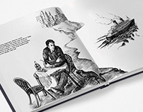 """""""Mexican Divertimento"""" - book design and illustrations"""