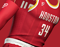 Houston Rockets - Logo and Uniform Concepts