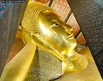 Buddha Image in Wat Pho, Bangkok, Thailand
