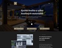 JJ-STAV company scroll web design