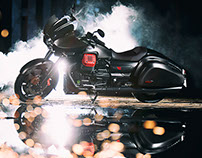 Moto Guzzi MGX21 Photo & Video Production