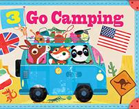 3 Go Camping------------------Olive May Green