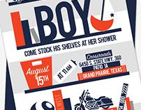 Baby Invitation Design