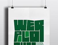 Werplonix | tipografía experimental
