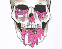 Skull illustrations.