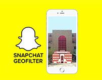 Materials Eng. Snapchat geofilter