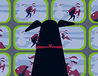Groupama winter animation