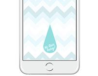 NO RAIN TODAY || UI/UX DESIGN