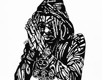 Rapper Portraits (Migos)