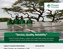Power Providers Marketing Materials PHASE 1