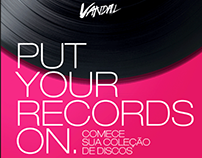 Newsletter Dia do Disco - Vandal