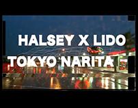 Tokyo Narita - Halsey x Lido Lyric Video