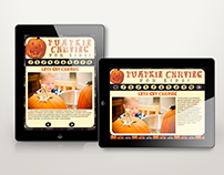 Pumpkin Carving E-Learning iPad Design & Development