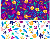 Ditsy backgrounds