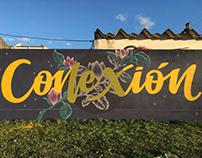 Conexión · Mural