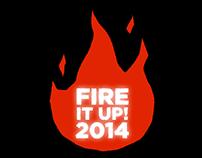 Blaze Pizza convention logos